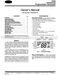 Debonair 33CS220-01 Owner's Manual Page #2