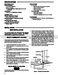 Comfort Set 1F90-60 Installation Instructions Page #3