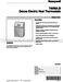 Honeywell T4098 Product Data