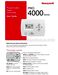 PRO 4000 Series TH4110D1007 User Guide Page #2