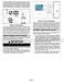 ComfortSense L3511C Operation Manual Page #3