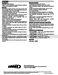 ComfortSense L3722C Engineering Data Page #3