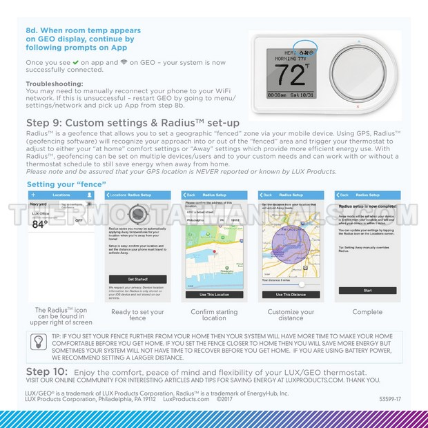 Review Lux Geo Wifi Thermostat Manual Guide