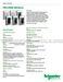 Schneider Electric MCS-4000 Technical Datasheet