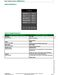 SE8000 Series SE8600 User Interface Guide Page #38