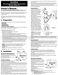 SunTouch SunStat 500675 Owner's Manual