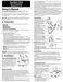 SunTouch SunStat Dial Owner's Manual