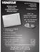 Venstar T1100REC Installation Instructions