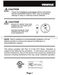 Slimline Platinum T1800 Owner's Manual Page #3