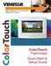 Venstar T6800 Quick Start & Setup Guide