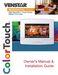 Venstar T7800 Owner's Manual & Installation Guide