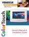 ColorTouch T7850 Owner's Manual & Installation Guide Page #2