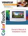 ColorTouch T7900 Owner's Manual & Installation Guide Page #2