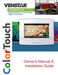 ColorTouch T8800 Owner's Manual & Installation Guide Page #2