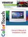 ColorTouch T8900 Owner's Manual & Installation Guide Page #2