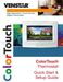 ColorTouch T8900 Quick Start & Setup Guide Page #2