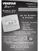Slimline Platinum TSTATEZ Installation Instructions Page #2