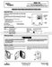 1E65-144 Installation and Operation Instructions Page #2