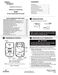 70 Series 1E78-151 Installation Instructions Page #2